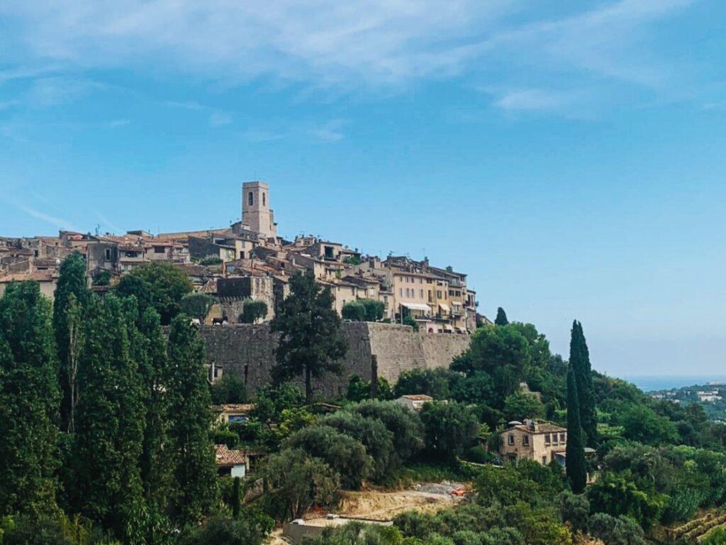 panorama del borgo di saint paul de vence