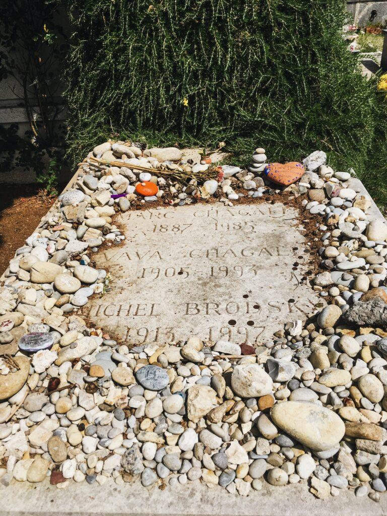saint paul de vence tomba di chagall
