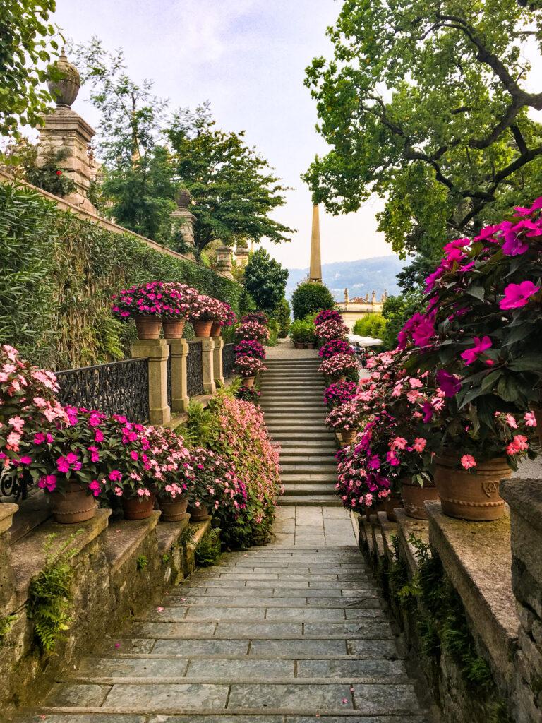 giardino fiorito isola bella