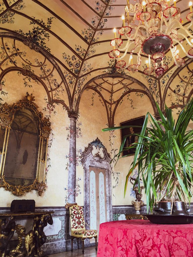salotto veneziano isola madre